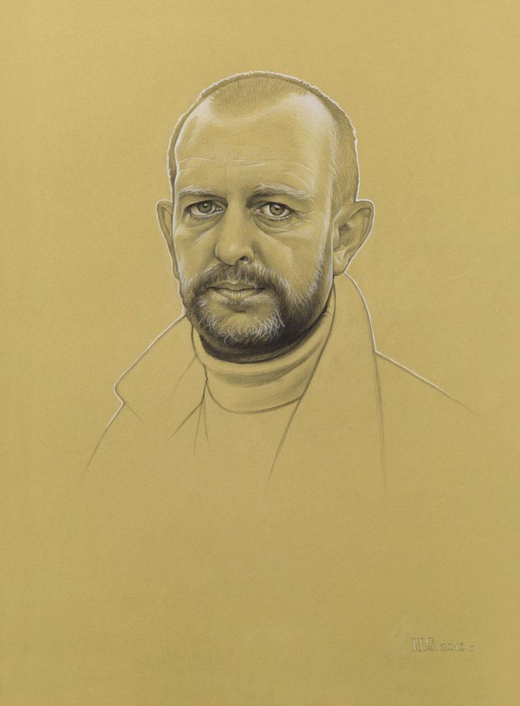 15-И.Сушенок п-т. Н.Мельникова бумага, грф. карандаш, белила. 2012г.
