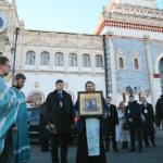 Ежегодный крестный ход о сохранении мира, по железнодорожным вокзалам Москвы