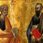 С ДНЕМ ПЕРВОВЕРХОВНЫХ АПОСТОЛОВ ПЕТРА и ПАВЛА!