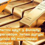 Златни адут у финалу преговора: Јапан дугује Русији 80 милијарди долара!