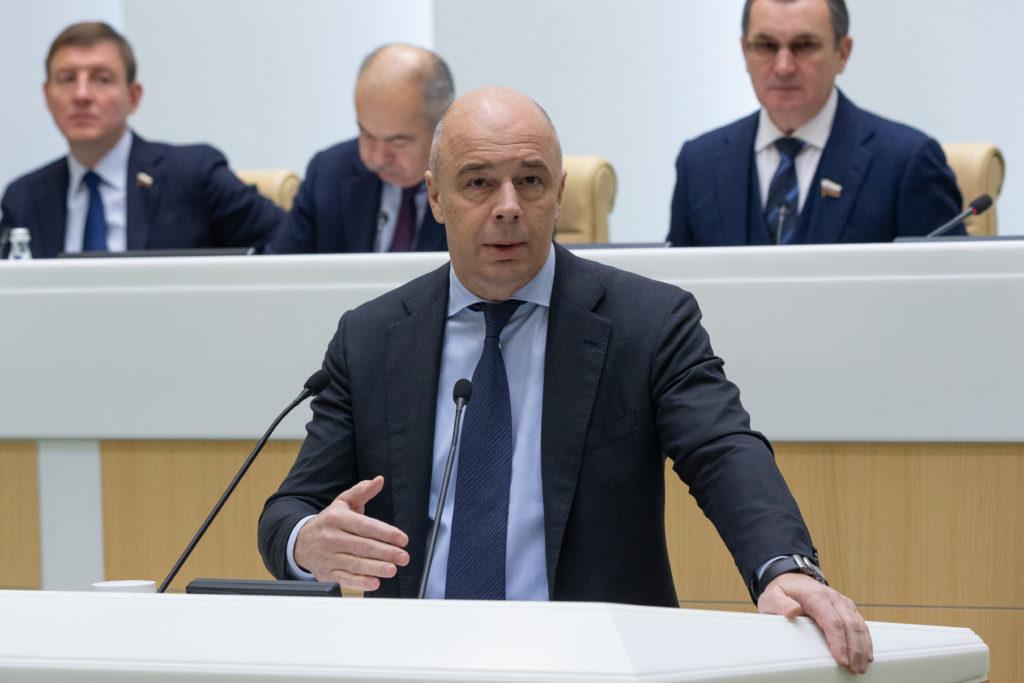 25 2019 Federation Council of Russia via globallookpress.com Anton Siluanov