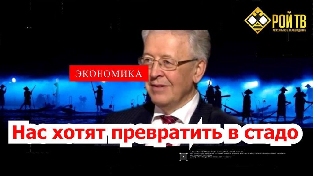 Валентин Катасонов: нас хотят превратить в стадо