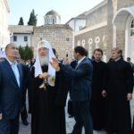 Визит Патриарха и Президента на гору Афон. Комментарий