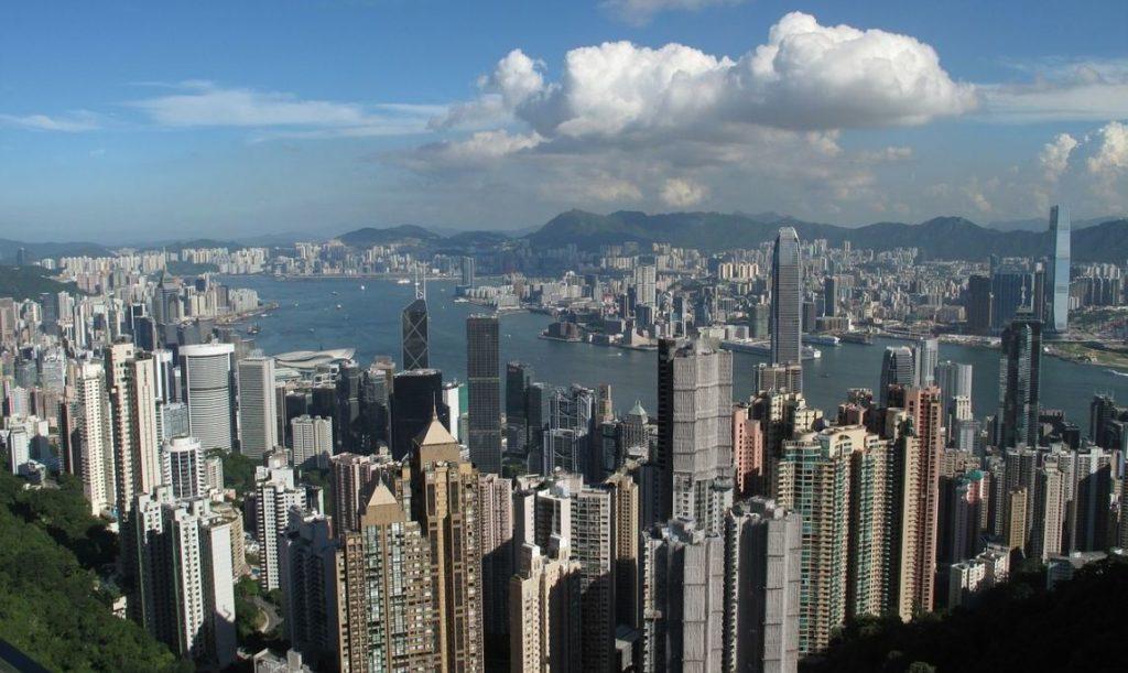 Hong Kong City Skyscrapers Building Booked