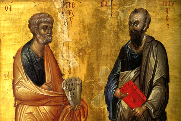 12- апостолы Петр и Павел